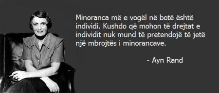 Ayn Rand mbi të drejtat indivuduale